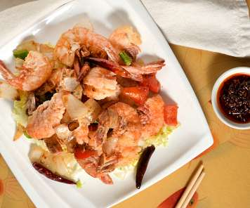 Prawns in Special Sauce